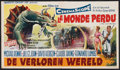 "Movie Posters:Science Fiction, The Lost World (20th Century Fox, 1960). Belgian (12.25"" X 21.25"").Science Fiction.. ..."