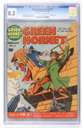 Golden Age (1938-1955):Superhero, Green Hornet Comics #11 (Harvey, 1943) CGC VF+ 8.5 Off-white to white pages....