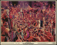 "The Ten Commandments Lot (Paramount, R-1972). Color and Black and White Stills (7) (8"" X 10""). Historical Dram..."