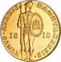 German States:Hamburg, German States: Hamburg. Free City gold Ducat 1818,...