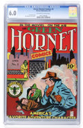 Golden Age (1938-1955):Superhero, Green Hornet Comics #3 (Helnit, 1941) CGC FN 6.0 Off-white to white pages....