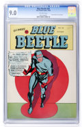 Golden Age (1938-1955):Superhero, Blue Beetle #26 (Fox Features Syndicate, 1943) CGC VF/NM 9.0 Off-white pages....