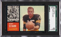 Football Cards:Singles (1960-1969), 1962 Topps Bart Starr #63 SGC 60 EX 5....