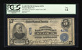 National Bank Notes:Missouri, Saint Louis, MO - $5 1902 Plain Back Fr. 600 The NB of Commerce Ch.# 4178. ...