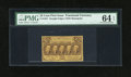 Fractional Currency:First Issue, Fr. 1281 25c First Issue PMG Choice Uncirculated 64 EPQ....