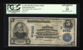 National Bank Notes:West Virginia, Fairmont, WV - $5 1902 Plain Back Fr. 600 The Peoples NB Ch. #(S)9645. ...