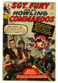 Silver Age (1956-1969):War, Sgt. Fury and His Howling Commandos #1 (Marvel, 1963) Condition: GD/VG....