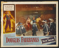 "Movie Posters:Adventure, The Iron Mask Lot (Lippert, R-1953). Lobby Cards (4) (11"" X 14"")and Pressbook. Adventure.. ... (Total: 5 Items)"