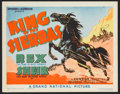 """Movie Posters:Western, King of the Sierras (Grand National, 1938). Lobby Card Set of 8(11"""" X 14""""). Western.. ... (Total: 8 Items)"""