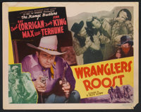 "Wrangler's Roost (Monogram, 1941). Lobby Card Set of 8 (11"" X 14""). Western. ... (Total: 8 Items)"