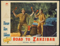 "Movie Posters:Comedy, Road to Zanzibar (Paramount, 1941). Lobby Card Set of 8 (11"" X14""). Comedy.. ... (Total: 8 Items)"
