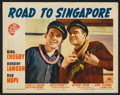 """Movie Posters:Comedy, Road to Singapore (Paramount, 1940). Lobby Cards (6) (11"""" X 14"""").Comedy.. ... (Total: 6 Items)"""