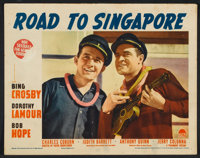 "Road to Singapore (Paramount, 1940). Lobby Cards (6) (11"" X 14""). Comedy. ... (Total: 6 Items)"