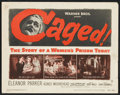 """Movie Posters:Crime, Crime Lot (Various, 1930s-1950s). Title Lobby Card and Lobby Cards (10) (11"""" X 14""""). Crime.. ... (Total: 11 Items)"""