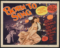 """Musical Comedy Lot (Various, 1930s-1940s). Title Lobby Card and Lobby cards (7) (11"""" X 14""""). Musical. ... (Tot..."""