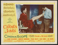 "Carmen Jones (20th Century Fox, 1954). Lobby Cards (5) (11"" X 14""). Black Films. ... (Total: 5 Items)"