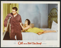 """Cat on a Hot Tin Roof (MGM, 1958). Lobby Cards (7) (11"""" X 14""""). Drama. ... (Total: 7 Items)"""