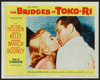"The Bridges at Toko-Ri (Paramount, R-1959). Lobby Card Set of 8 (11"" X 14""). War. ... (Total: 8 Items)"
