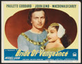 """Movie Posters:Adventure, Bride of Vengeance (Paramount, 1949). Lobby Cards (4) (11"""" X 14"""").Adventure.. ... (Total: 4 Items)"""