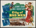 """Movie Posters:Western, City of Bad Men (20th Century Fox, 1953). Title Card and LobbyCards (6) (11"""" X 14""""). Western.. ... (Total: 7 Items)"""