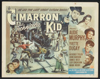 """The Cimarron Kid (Universal International, 1952). Title Card (11"""" X 14"""") and Lobby Cards (5) (11"""" X 14&qu..."""