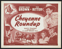 "Cheyenne Roundup (Film Classics Inc., R-1948). Lobby Card Set of 8 (11"" X 14""). Western. ... (Total: 8 Items)"