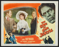 """The Son of Dr. Jekyll (Columbia, 1951). Lobby Cards (4) (11"""" X 14""""). Horror. ... (Total: 4 Items)"""
