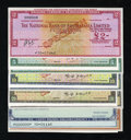 Miscellaneous:Other, Australian Specimen Travelers Checks. Choice Crisp Uncirculated,once mounted.. ... (Total: 11 items)