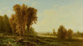 Fine Art - Painting, American:Antique  (Pre 1900), PROPERTY OF A PRIVATE TEXAS COLLECTOR. JOHN WILLIAM CASILEAR(American, 1811-1893). Going for the Herd, 1872. Oil on b...
