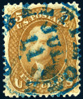 Stamps, 5c Buff (67),...