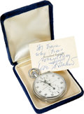 Movie/TV Memorabilia:Props, Ernie Kovacs' Stopwatch from Rosalind Russell....