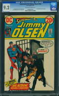 Bronze Age (1970-1979):Superhero, Superman's Pal Jimmy Olsen #155 (DC, 1973) CGC NM- 9.2 Off-white to white pages.