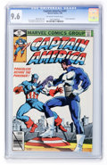 Modern Age (1980-Present):Superhero, Captain America #241 (Marvel, 1980) CGC NM+ 9.6 Off-white to whitepages....