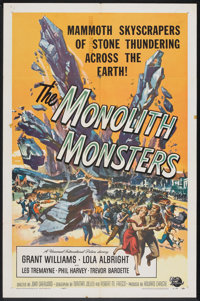 "The Monolith Monsters (Universal International, 1957). One Sheet (27"" X 41""). Science Fiction"
