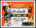 """Movie Posters:Western, This Savage Land Lot (Universal, 1969). Half Sheets (2) (22"""" X28""""). Western.. ... (Total: 2 Items)"""