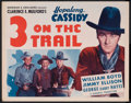 "Movie Posters:Western, 3 on the Trail (Goodwill, R-1949). Half Sheet (22"" X 28"").Western.. ..."