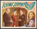 "Movie Posters:Horror, The Flying Serpent (PRC, 1946). Lobby Card (11"" X 14""). Horror....."
