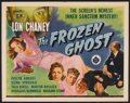 """Movie Posters:Horror, The Frozen Ghost (Universal, 1944). Half Sheet (22"""" X 28"""").Horror.. ..."""