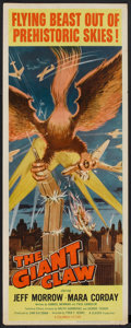 """Movie Posters:Science Fiction, The Giant Claw (Columbia, 1957). Insert (14"""" X 36""""). Science Fiction.. ..."""