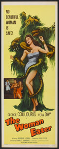 "Movie Posters:Horror, The Woman Eater (Columbia, 1959). Insert (14"" X 36""). Horror.. ..."