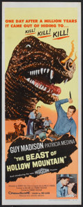 "Movie Posters:Science Fiction, The Beast of Hollow Mountain (United Artists, 1956). Insert (14"" X36""). Science Fiction.. ..."