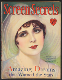"Screenland (June, 1929). Magazine (116 Pages, 8.5"" X 11"")"
