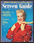"""Movie Posters:Miscellaneous, Screen Guide (March, 1951). Magazine (92 Pages, 8.5"""" X 10.75""""). ..."""
