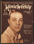 "Movie Posters:Miscellaneous, Movie Weekly (August, 1923). Magazine (32 Pages, 9.25"" X 12.25""). ..."