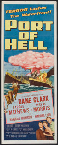 """Movie Posters:Drama, Port Of Hell (Allied Artists, 1954). Insert (14"""" X 36""""). Drama.. ..."""