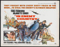 "Movie Posters:Action, In Enemy Country (Universal, 1968). Half Sheet (22"" X 28""). Action.. ..."