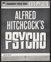 "Psycho (Paramount, 1960). Pressbook (Multiple Pages) (12.25"" X 15.25""). Hitchcock"