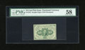 Fractional Currency:First Issue, Fr. 1242 10c First Issue PMG Choice About Unc 58....