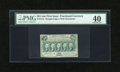 Fractional Currency:First Issue, Fr. 1312 50c First Issue PMG Extremely Fine 40....