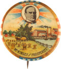 """Political:Pinback Buttons (1896-present), William McKinley: """"McKinley and Prosperity"""" Campaign Button...."""